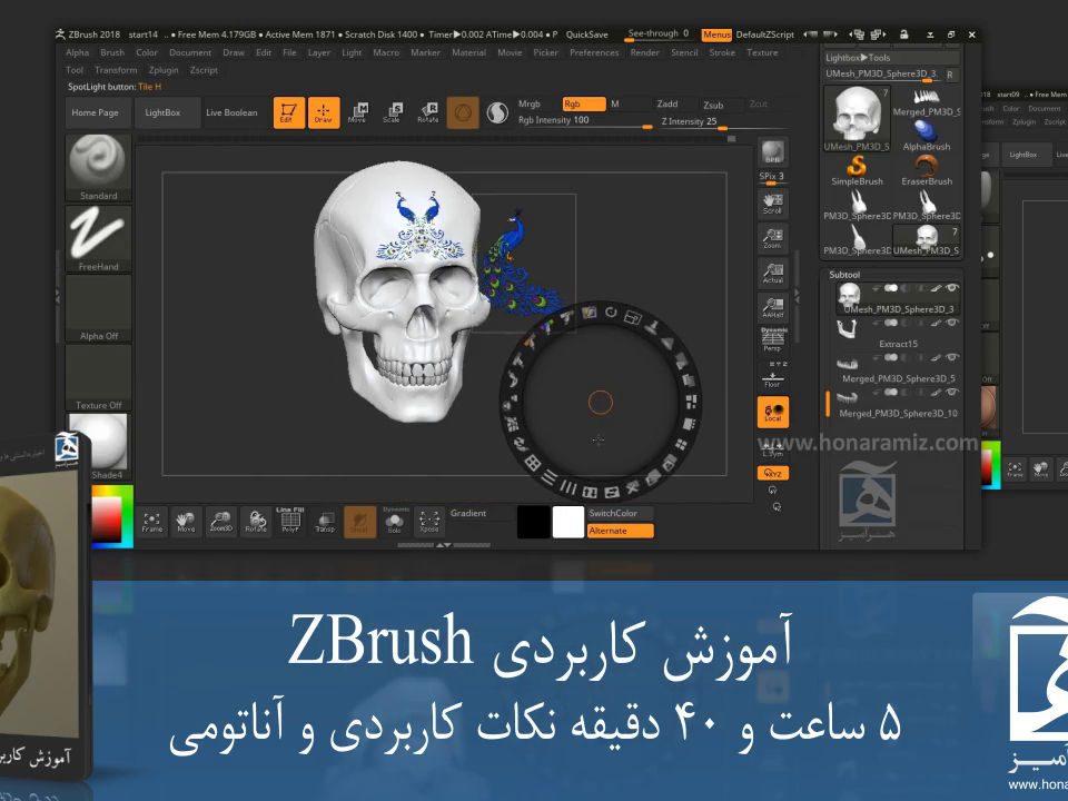 آموزش زیبراش فارسی