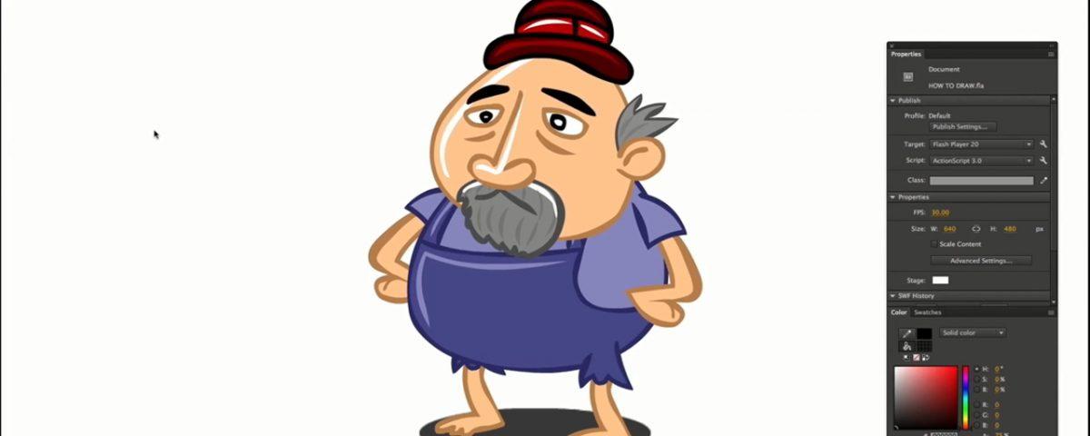 پیرمرد_کارتونی