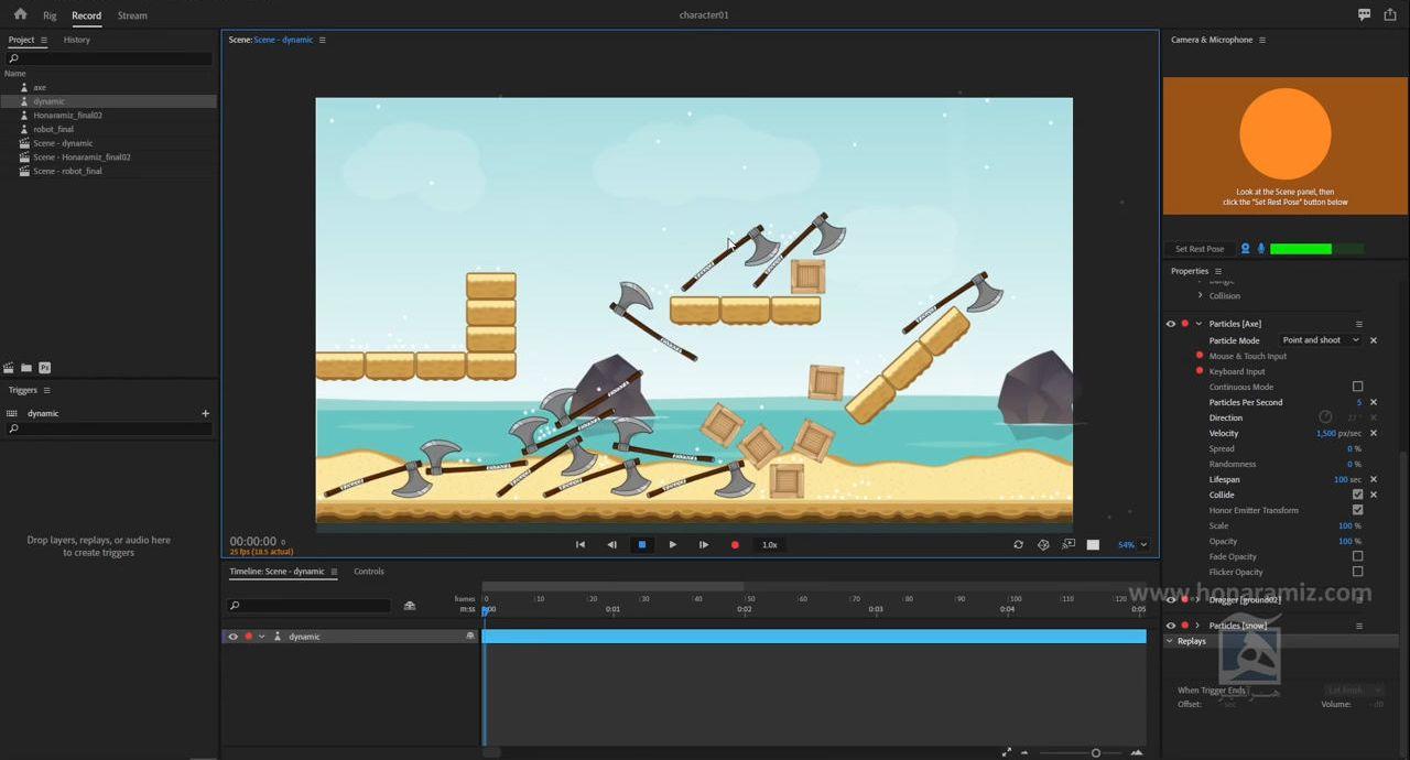 آموزش character animator